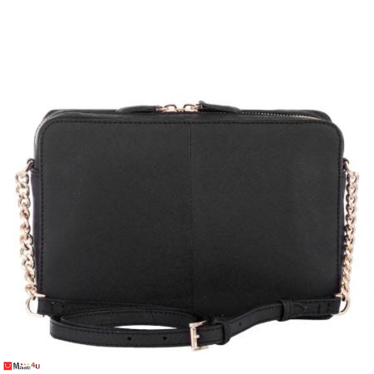 Дамска чанта през рамо 25х16см, черна