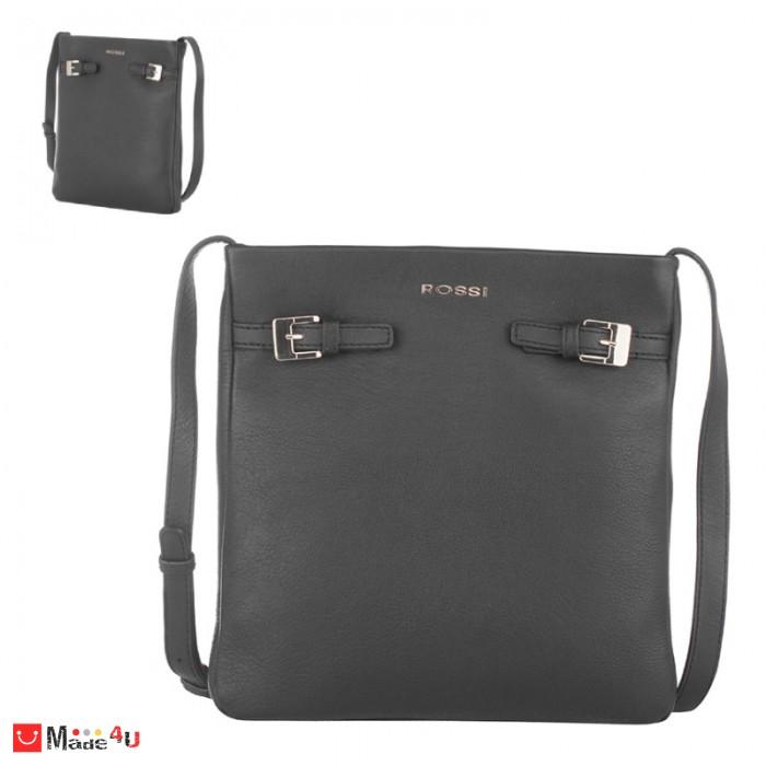 Дамска чанта тип торба 26х23см, цвят черен