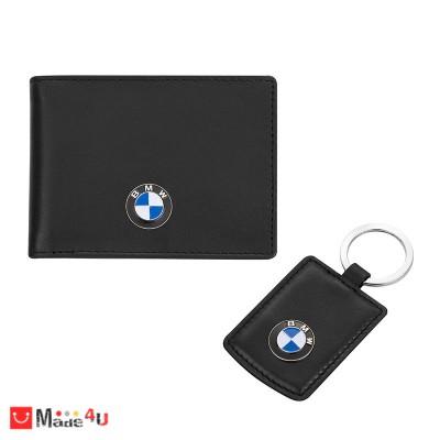 Сет BMW, ключодържател, калъф за документи