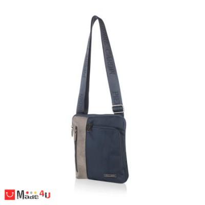 Мъжка Чанта от еко кожа и плат