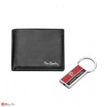 Подаръчен комплект Кожен Портфейл и Ключодържател, Pierre Cardin PCS-007