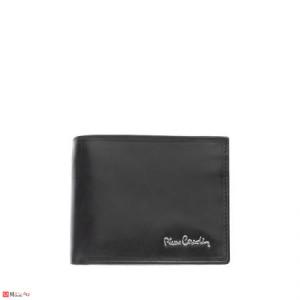 Мъжки класически портфейл от естествена кожа, хоризонтален, черен, PIERRE CARDIN PCL02300