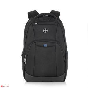 Спортна Раница за лаптоп с USB кабел 20л, подходяща за бизнес и туризъм, SWISSDIGITAL