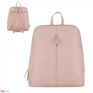 Дамска чанта през рамо, естествена кожа дамски чанти Rossi, перлено розово