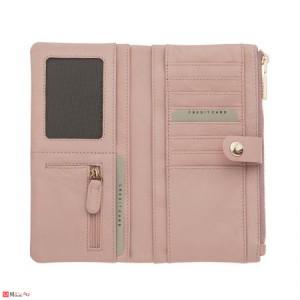 Дамски Портфейл естествена кожа, отделение за телефон, 10х19см, перлено розово, кожени портмонета Rossi