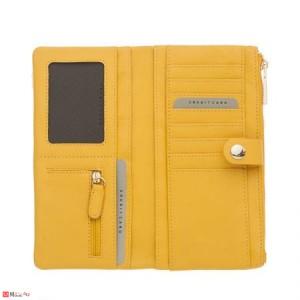 Дамски Портфейл естествена кожа, отделение за телефон, 10х19см, жълто, кожени портмонета Rossi