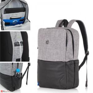 Бизнес Раница за лаптоп с USB кабел, подходяща и за спорт и туризъм, SD07 SWISSDIGITAL
